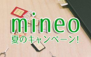 mineoサマーキャンペーン