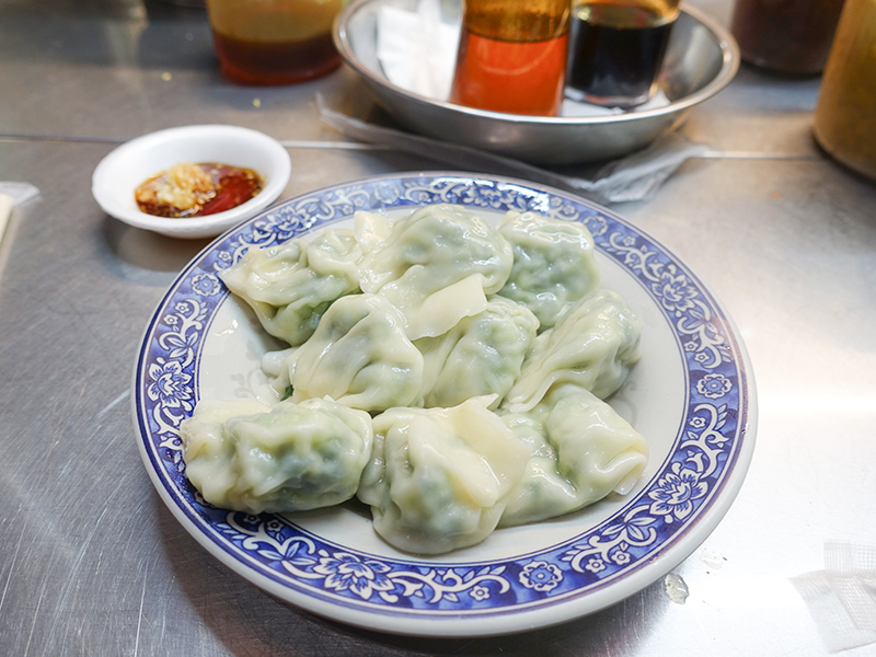 鴻水餃牛肉麺